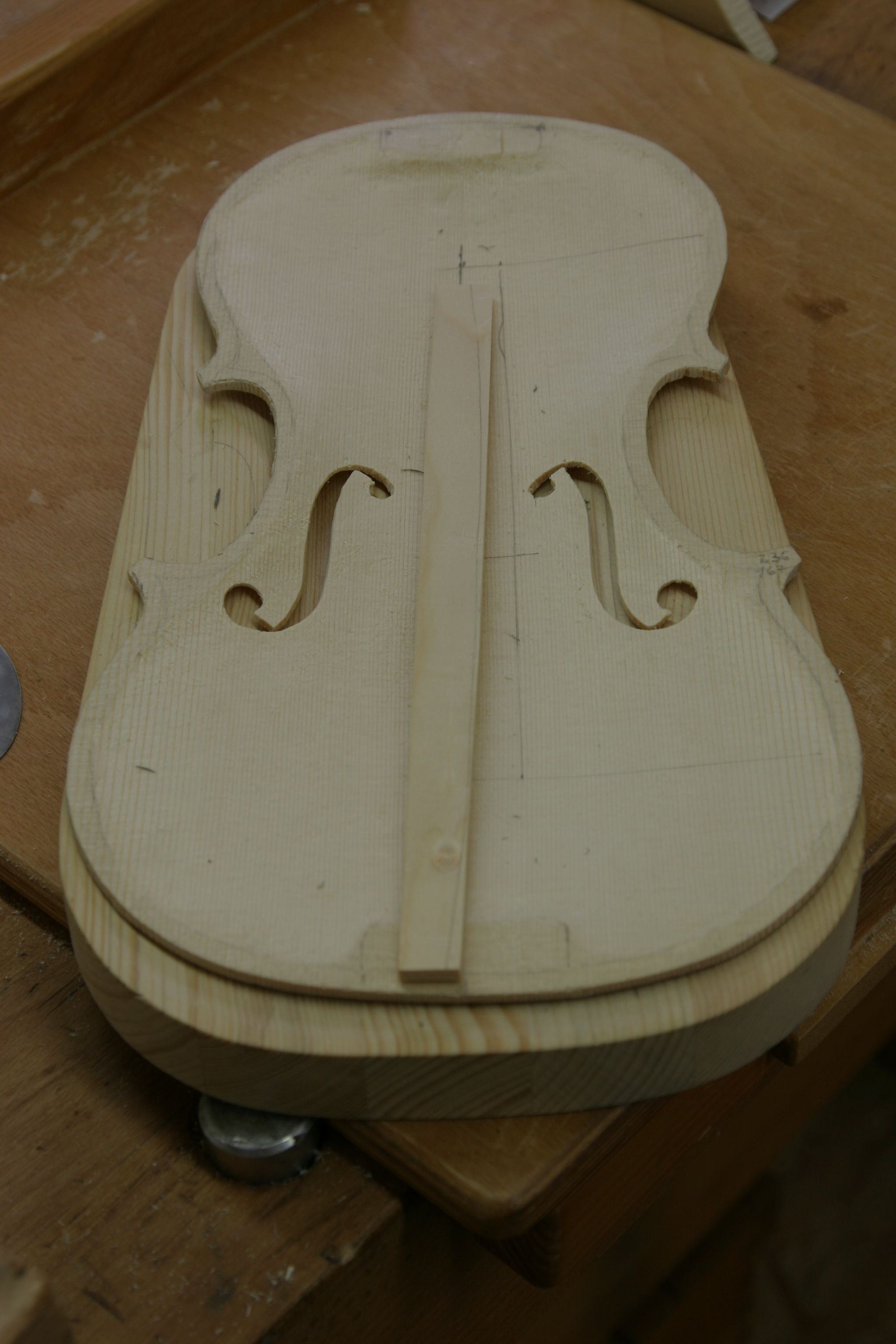 Violin Making Basic Course Woodworking