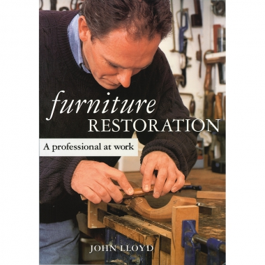 Furniture Restoration - A professional at work
